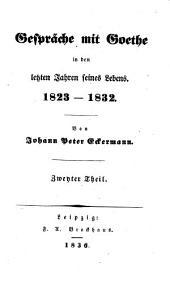 Gesprache mit Goethe