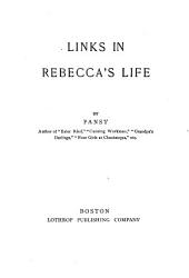 Links In Rebecca S Life Book PDF