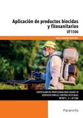UF1506 - Aplicación de productos biocidas y fitosanitarios