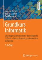 Grundkurs Informatik PDF