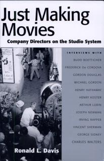 Just Making Movies Book