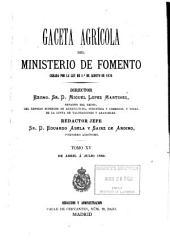 Gaceta Agrícola: Volumen 15