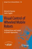 Visual Control of Wheeled Mobile Robots PDF