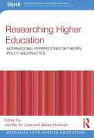 Researching Higher Education PDF