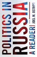 Politics In Russia  A Reader PDF