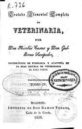 Tratado elemental completo de veterinaria: Volumen 4