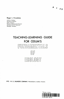 Teaching learning Guide for Odum s Fundamentals of Ecology PDF