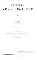 U  S  Army Register PDF