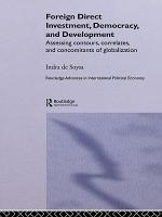 Foreign Direct Investment  Democracy and Development PDF