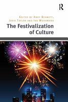 The Festivalization of Culture PDF