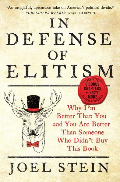 Download In Defense of Elitism Book