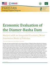 Economic Evaluation of the Diamer-Basha Dam: Analysis with an Integrated Economic/Water Simulation Model of Pakistan