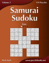 Samurai Sudoku - Easy - Volume 2 - 159 Puzzles