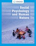 Social Psychology and Human Nature  with APA Card