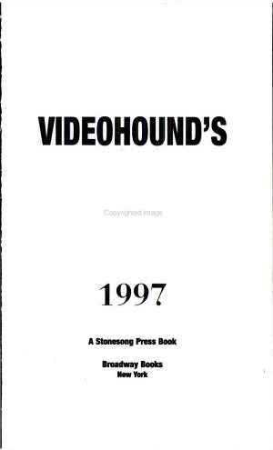 1997 Videohound's Guide to Three and Four-Star Movies