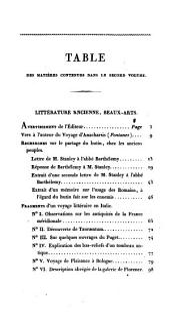 Œuvres diverses de J.J. Barthélemy: Volume2