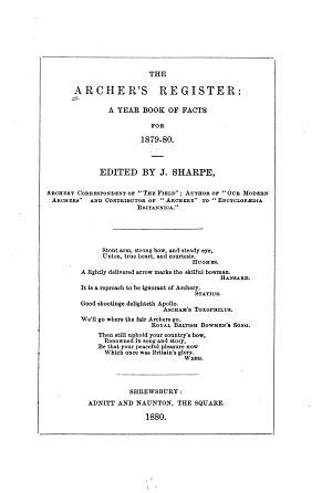 The Archer s Register