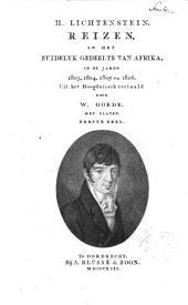 Reizen in het zuidelyk gedeelte van Afrika, in de jaren 1803, 1804, 1805 en 1806: Volume 1