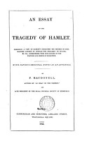 An Essay on the Tragedy of Hamlet PDF