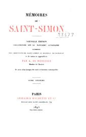 Mémoires de Saint-Simon: Volume 11
