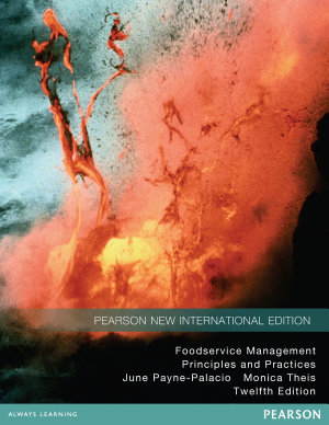 Foodservice Management  Pearson New International Edition PDF