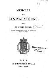 Mémoire sur les Nabatéens