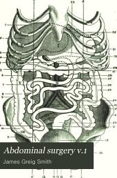 Abdominal Surgery: Volume 1