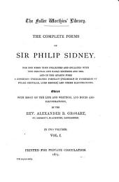 The Complete Poems of Sir Philip Sidney ...