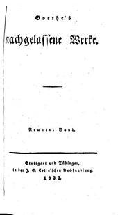 Goethe's Werke: Bände 49-50