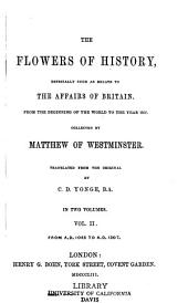 The Flowers of History: Volume 2