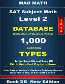 Sat Subject Math Level 2  2018