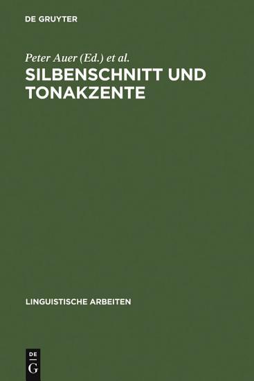 Silbenschnitt und Tonakzente PDF