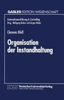 Organisation der Instandhaltung PDF