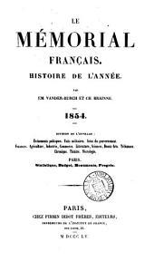 Le Mémorial français, par E. Vander-Burch et C. Brainne