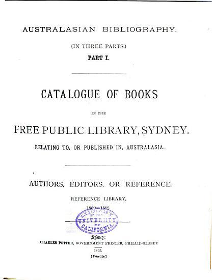 Australasian Bibliography PDF