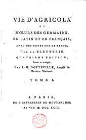 Oeuvres de Tacite: Volume 1