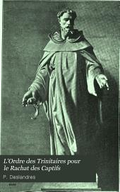 L'ordre des Trinitaires pour le rachat des captifs: Volume2