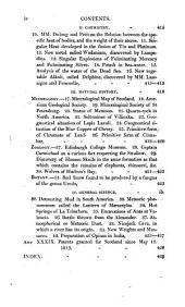 The Edinburgh Philosophical Journal: Volume 1