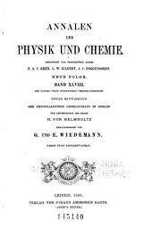Annalen der Physik und Chemie: Band 284