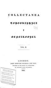 Collectanea topographica et genealogica: Volume 2