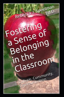 Fostering a Sense of Belonging in the Classroom PDF