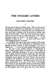 The Foolish Lovers