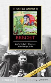 The Cambridge Companion to Brecht: Edition 2