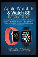 Apple Watch 6 & Watch Se User Guide