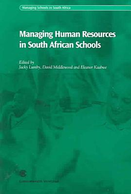 Managing Human Resources in South African Schools PDF