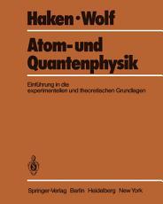 Atom  und Quantenphysik PDF