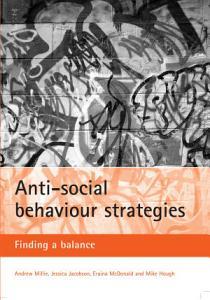 Anti social Behaviour Strategies PDF