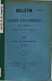 Bulletin de la Société industrielle de Reims