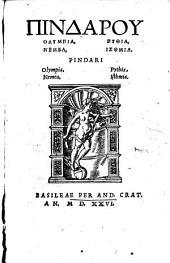 Olympia, Nemea, Pythia, Isthmia. (graece - cum praefut. Huldr. Zwinglii.)- Basileae, And. Cratander 1526