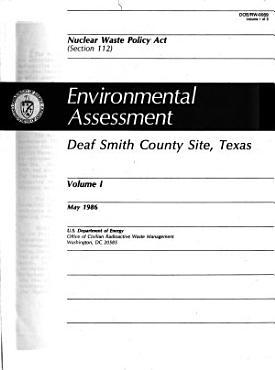Environmental Assessment  Deaf Smith County Site  Texas PDF